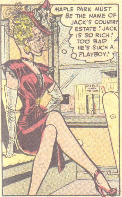 Torchy comic book sexy lady Bill Ward