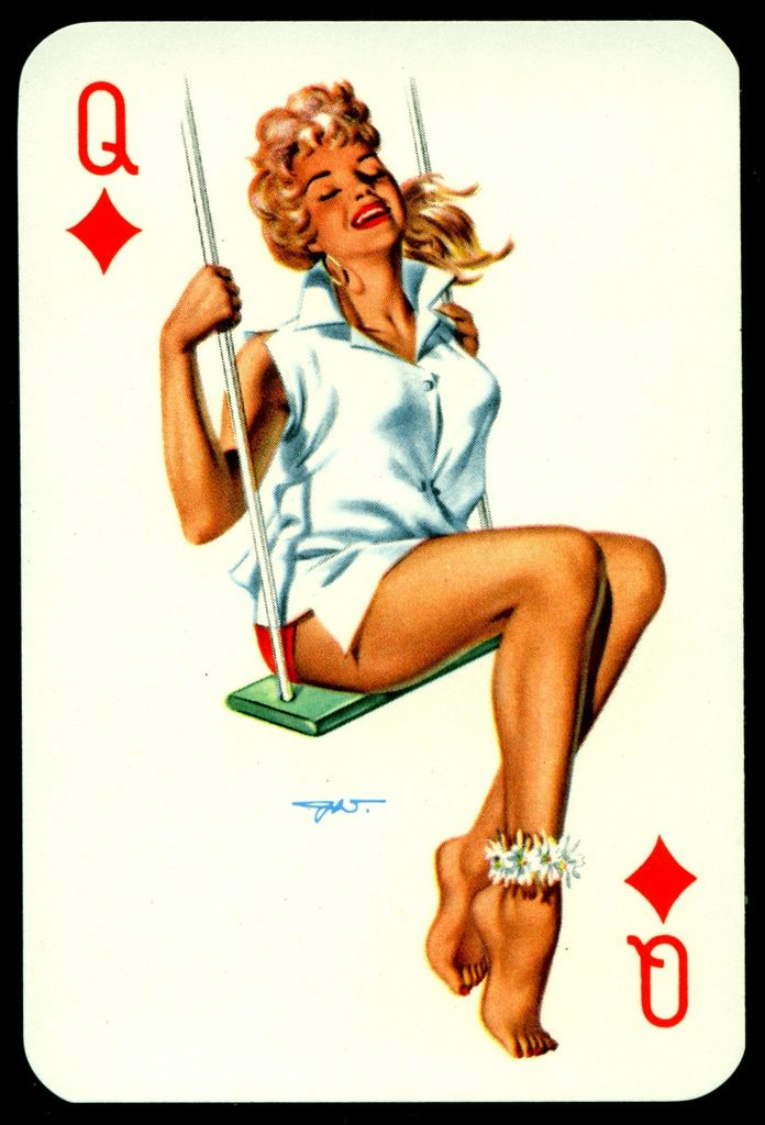 heinz villager pinup art playi