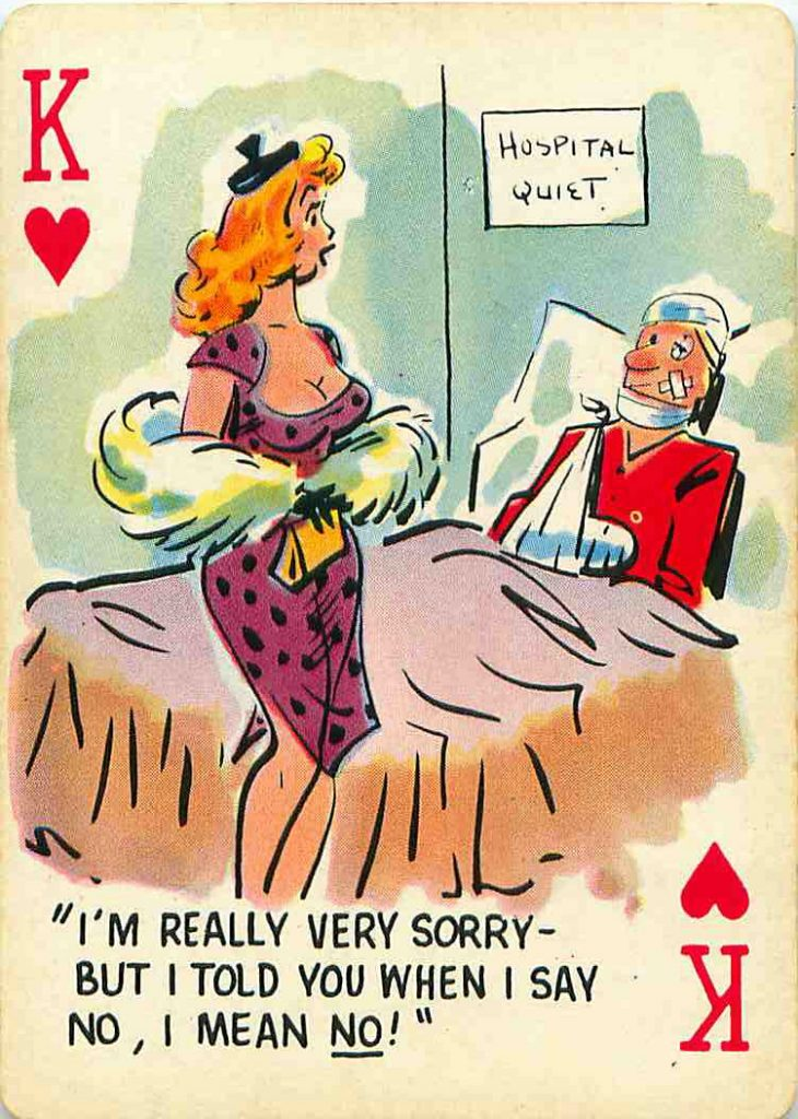 playing card pinup art cartoon