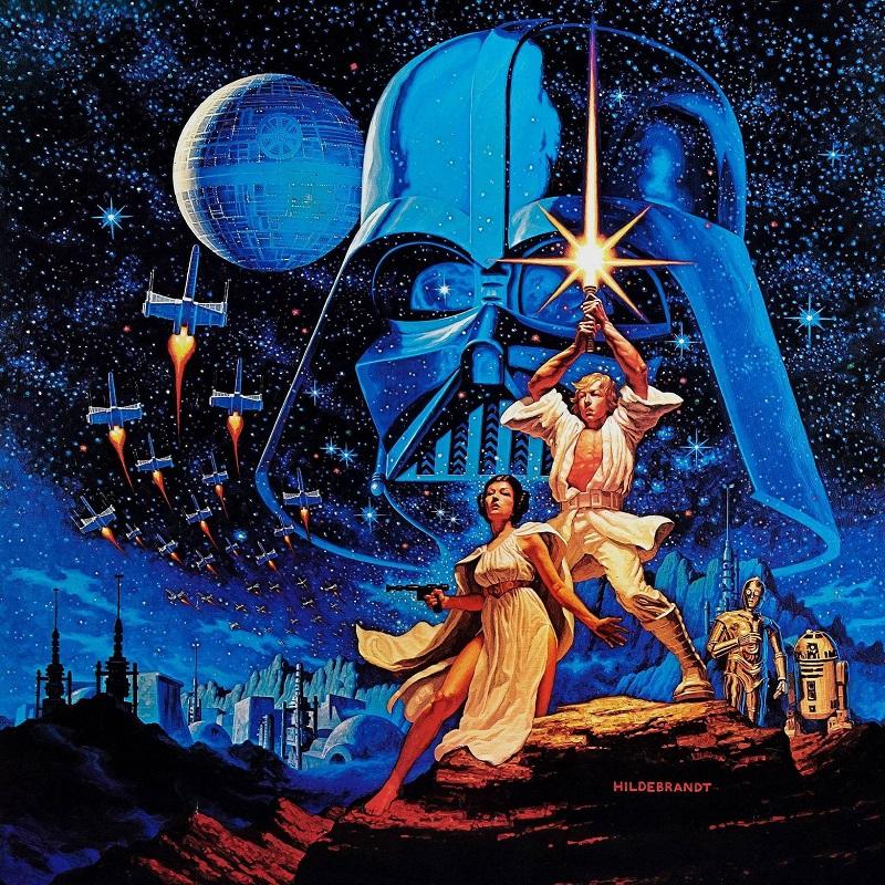 Star Wars Hildebrandt poster art