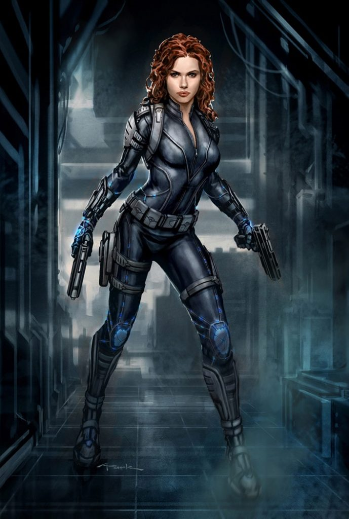 Black Widow Avengers movie