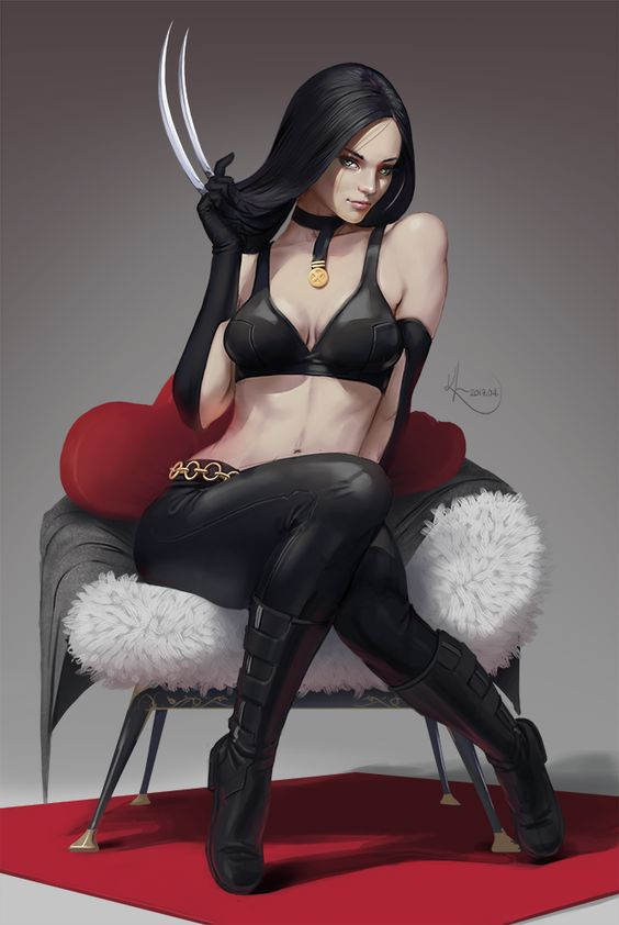X-23 pin-up by SourAcid