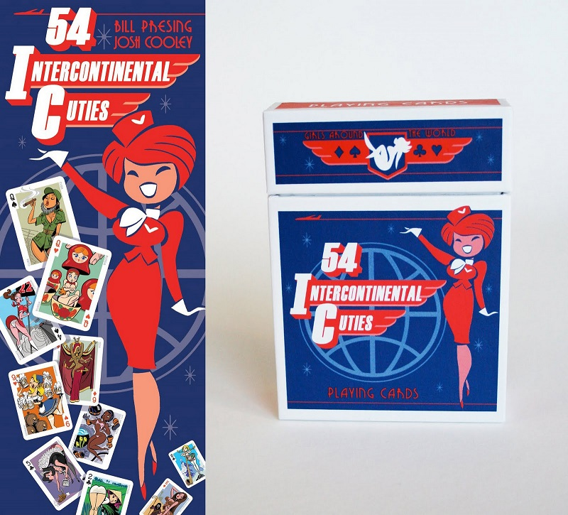 Pin-up playing card deck