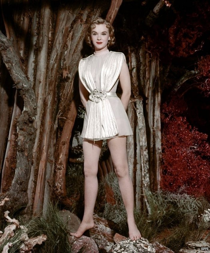 Anne Francis pinup 50s