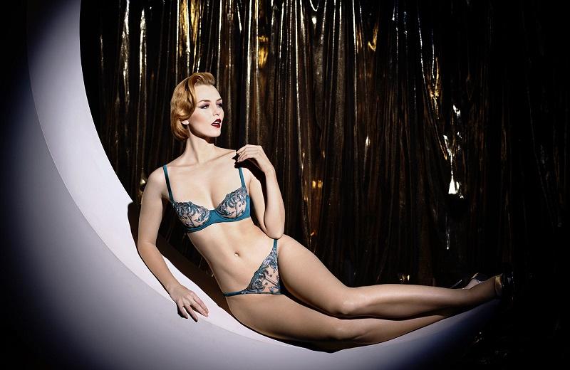 Artistic lingerie by Coco de Mer