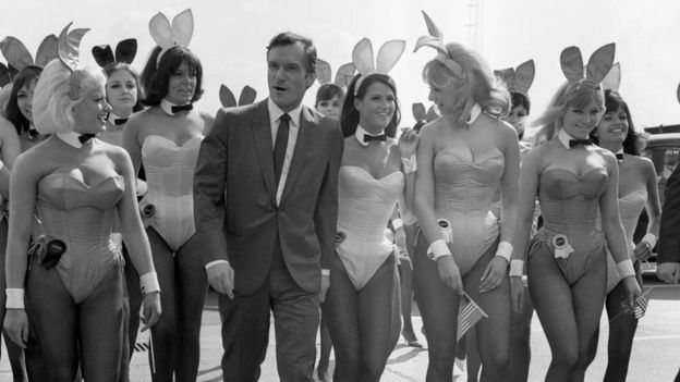 Playboy bunnies in the 1960s
