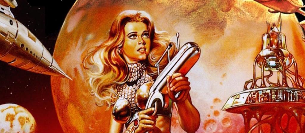 Barbarella movie poster art