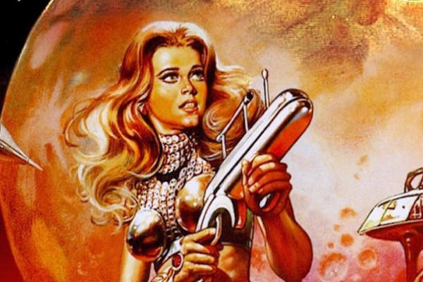 Barbarella movie poster art