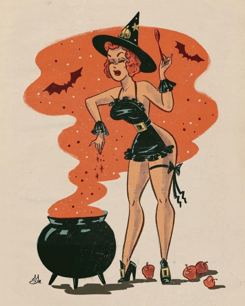 Sveta Shubina Hallowee witch
