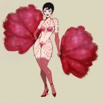 burlesque-pin-up-drawing-artwork-woman