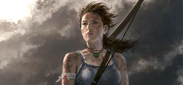 Lara Croft Andy Park Tomb Raider pin-up